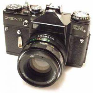 russisk kamera zenit EM