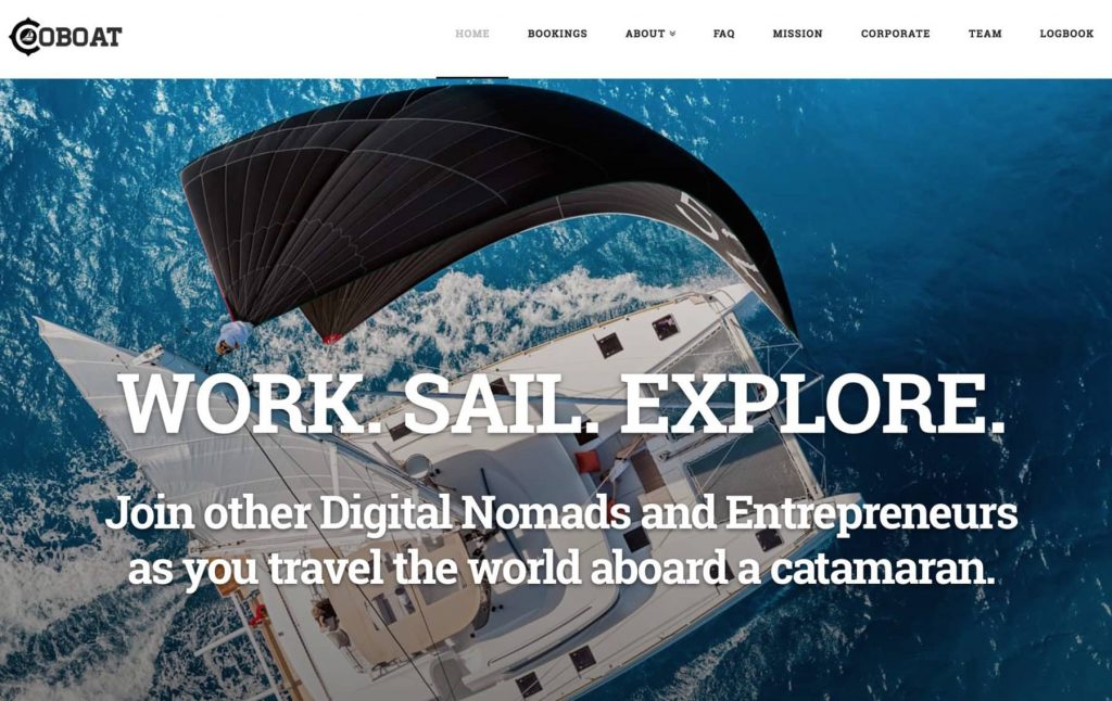 Coboat website